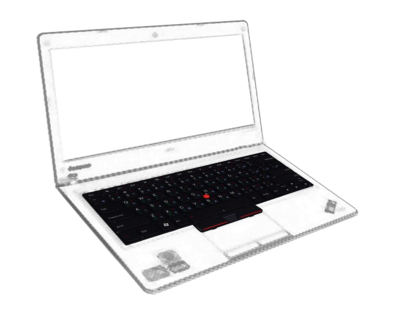 Notebook With Point Keyboard