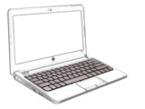 Notebook Back Lite Keyboard